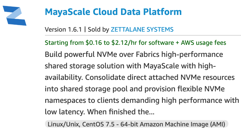 Mayascale Cloud Data Platform on AWS